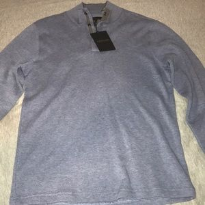 *NWT* Blue Lachlan 3-Button Sweater